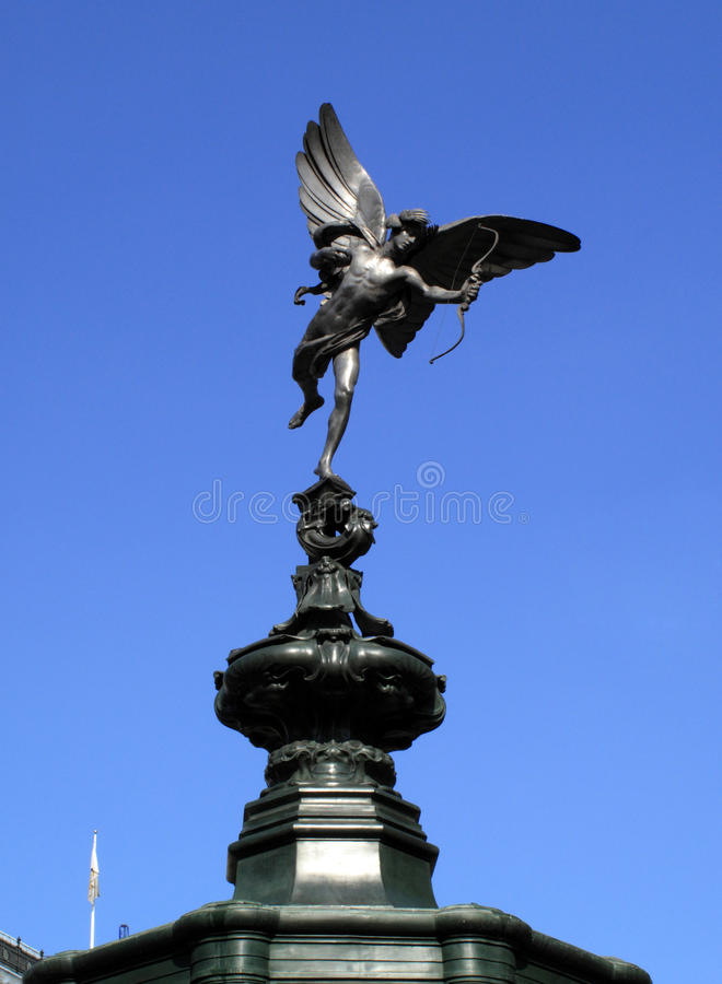Download Eros Piccadilly Circus stock photo. Image of westminster - 9476480