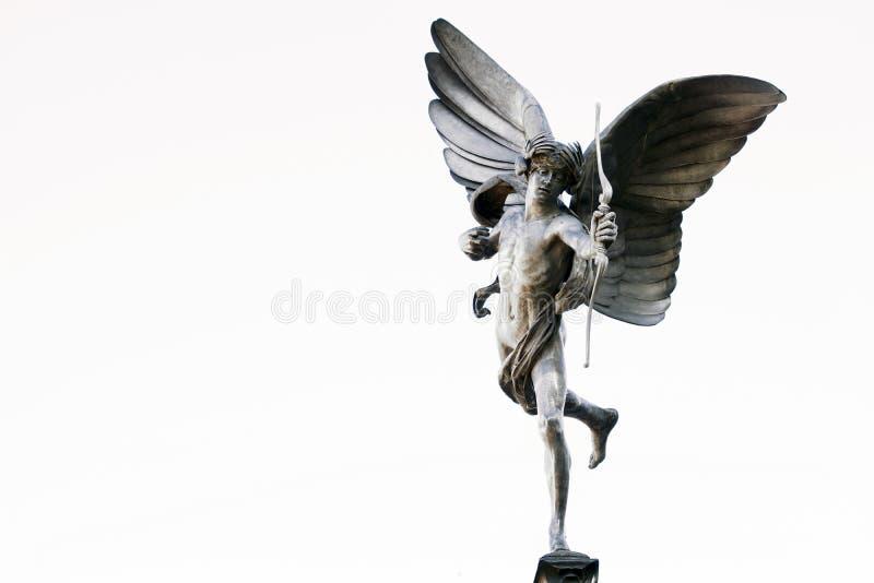 Eros statua fotografia stock