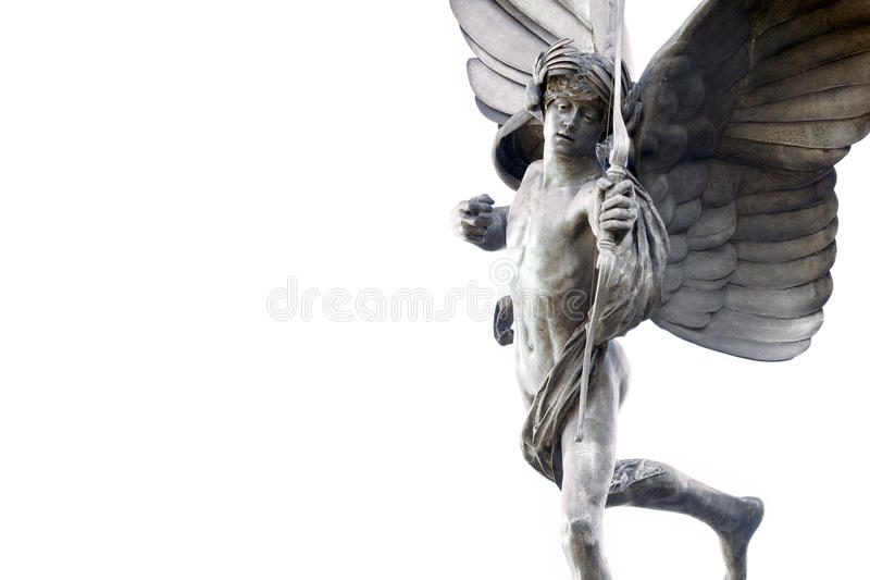 Eros statua obrazy royalty free