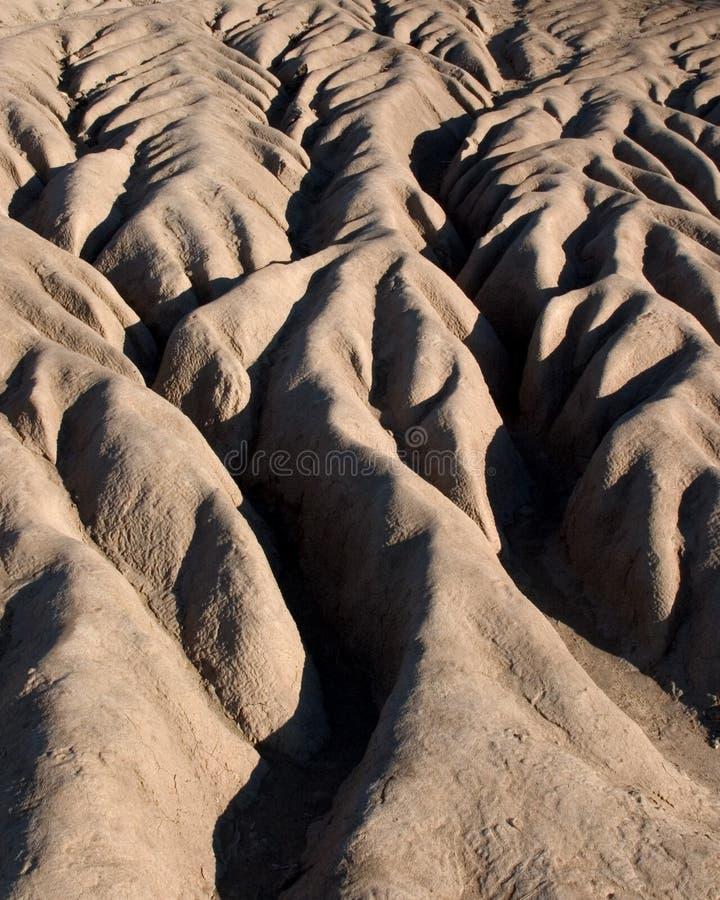 Erosie in Californië royalty-vrije stock fotografie