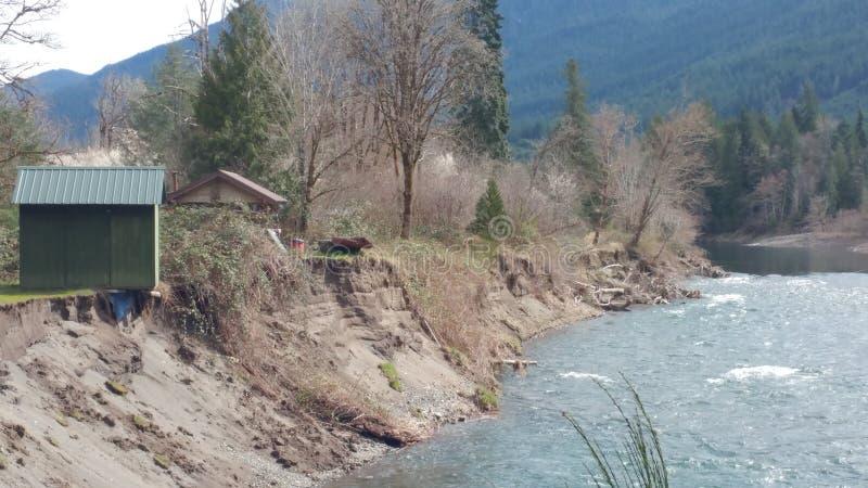 Erosion arkivfoton