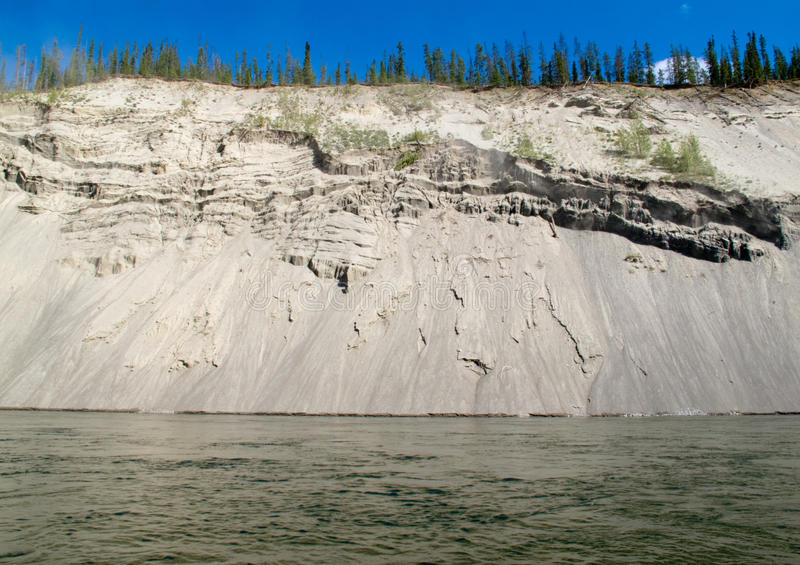 Download Erosion On Cutbank Of Yukon River In Canada Stock Photo - Image: 25759846