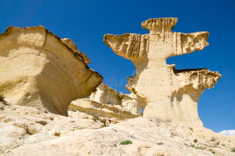 Erosion på sandsten royaltyfri foto