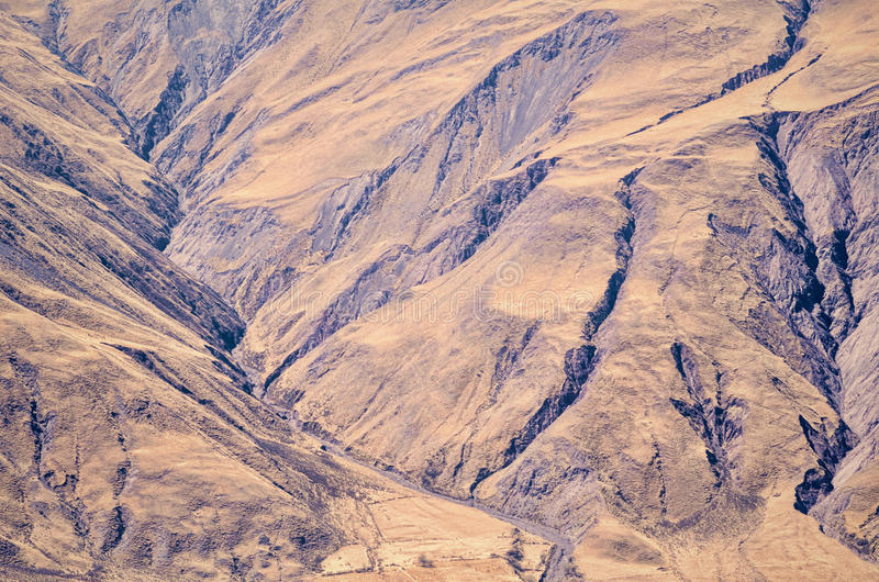 Erosionspår royaltyfria bilder