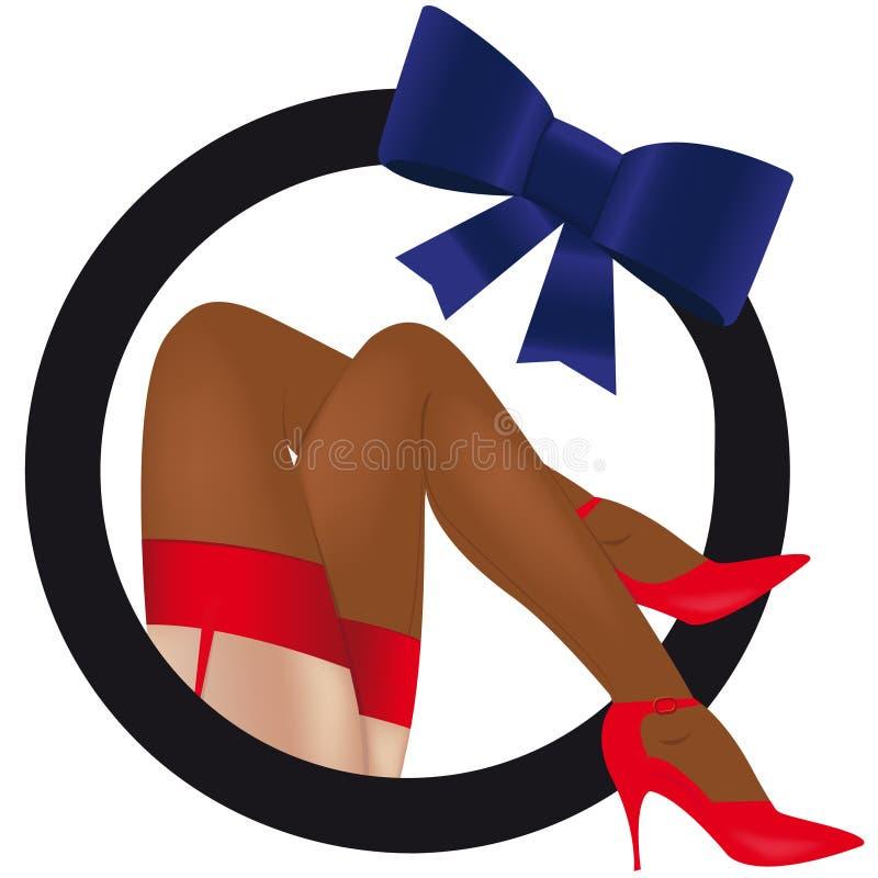 Free Erotic Female Legs Stock Image - 7879121