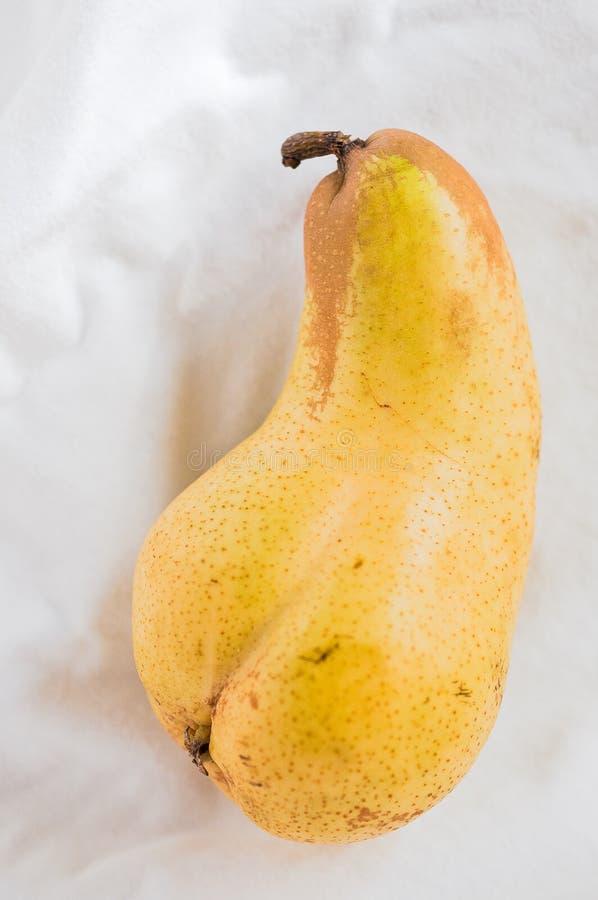 Erotic pear stock image