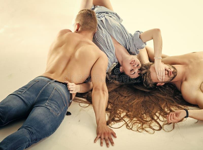 Erotico, concetto di desiderio Relazione, amore, romanzesco fotografia stock libera da diritti
