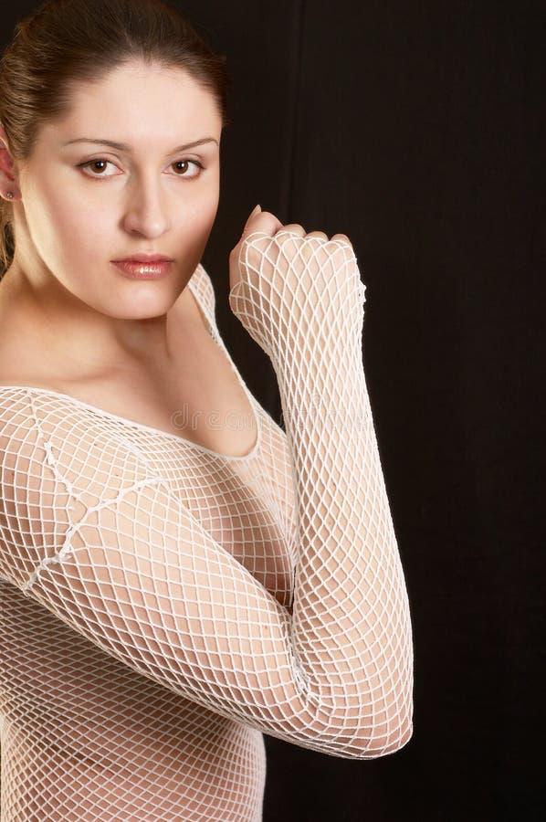 Erotische Frauen im Studio stockbild. Bild von haar