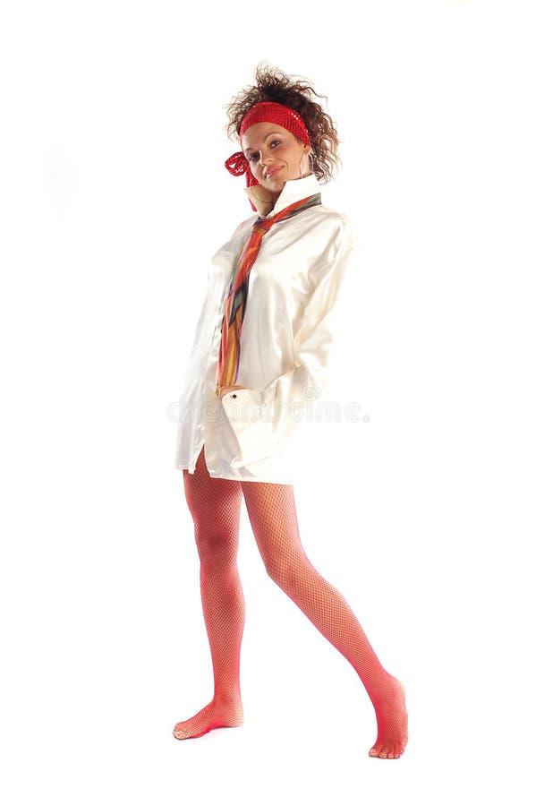 erotisk flicka royaltyfri bild