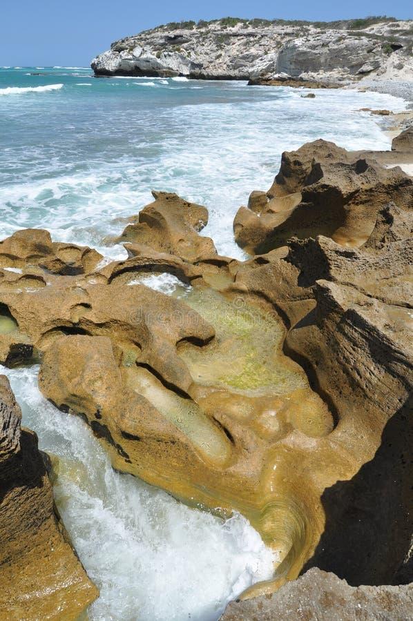 erozi morze obraz royalty free