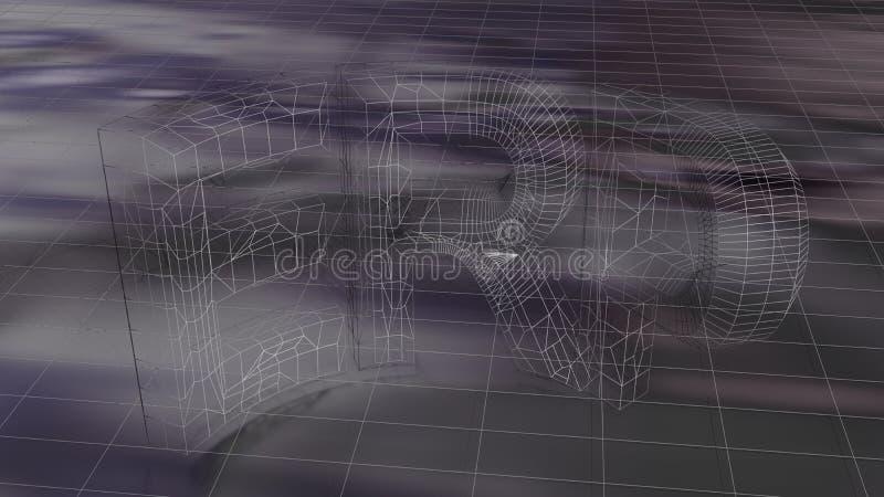 ERP - Planificación de los recursos de la empresa ilustración del vector