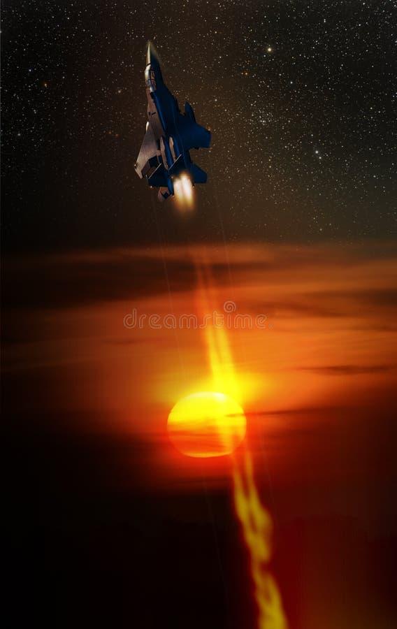 Erreichen der Sterne lizenzfreies stockfoto