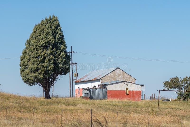 Errichten auf einem Bauernhof zwischen Wärter und Vrede lizenzfreies stockbild