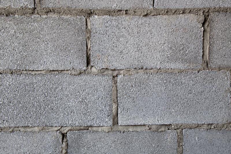 Errichtende hohle Backsteinmauerbild-Nahaufnahmebeschaffenheit lizenzfreie stockfotografie