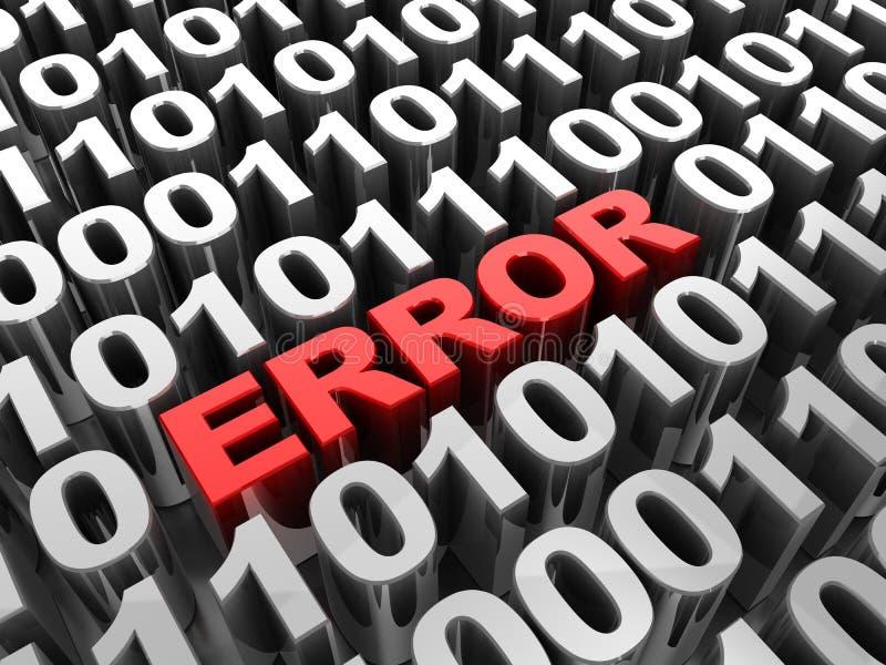 Download Error stock illustration. Image of mistaken, computer - 26488941