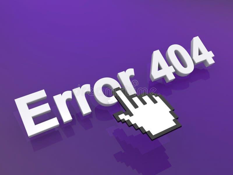 error 404  stock de ilustración