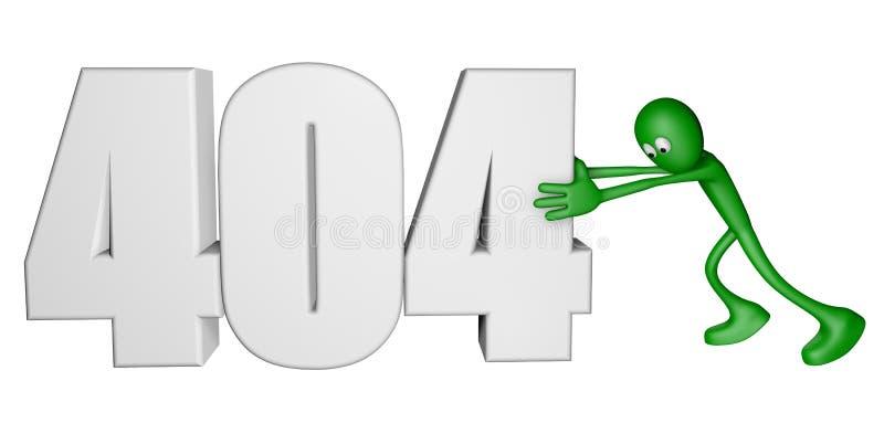 Download Error 404 stock illustration. Image of access, illustration - 26392767