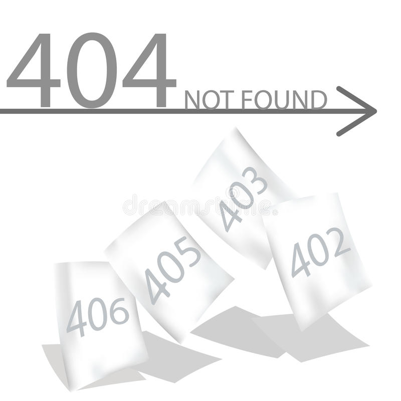 Error abstracto de la conexión del fondo 404 de los vectores libre illustration
