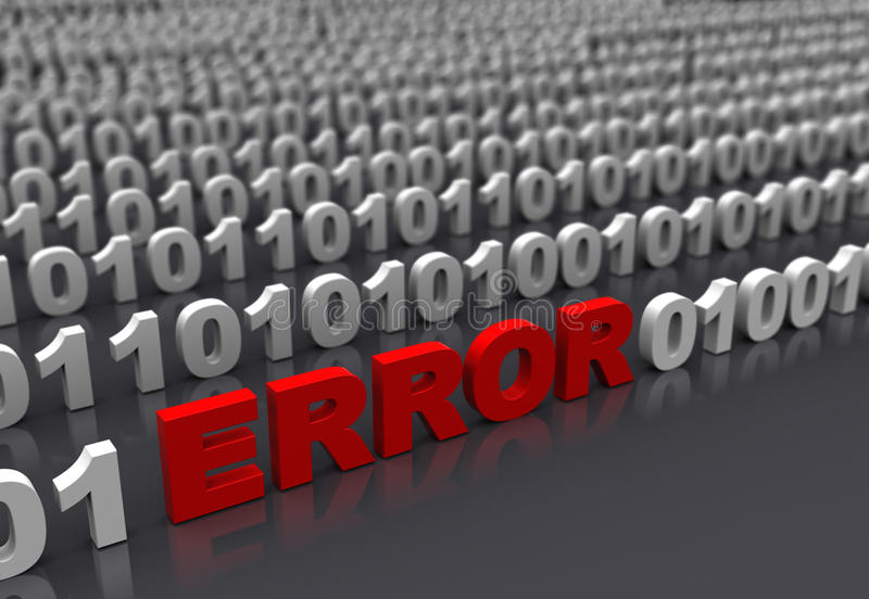 Download Error stock illustration. Image of electronics, code - 39345208