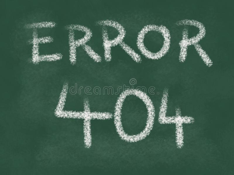 Error 404 royalty free illustration