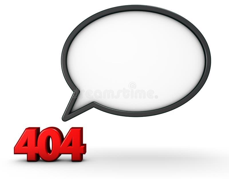Error 404 stock illustration