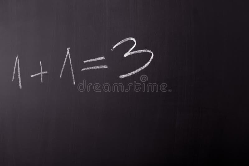Errore di per la matematica fotografia stock