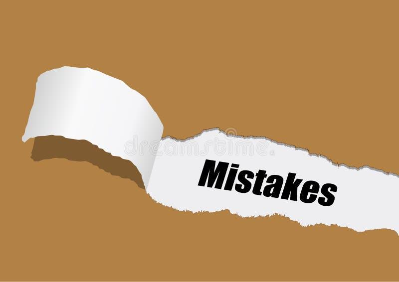 errores libre illustration