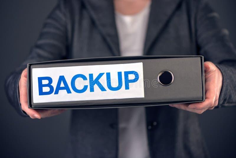 Ersatzkonzept der kommerziellen Daten, Archiv und halten Safe lizenzfreies stockbild