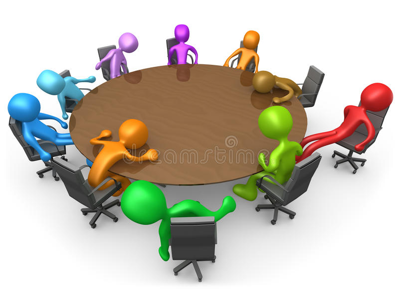 Erschöpfende Sitzung vektor abbildung