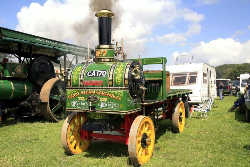 Erst-Lastwagen 1905 Dampfs 2ton Denby lizenzfreies stockfoto