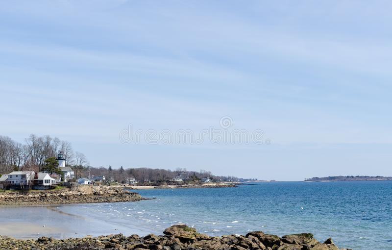 Erstaunliche Ansicht des Strandes lizenzfreies stockbild