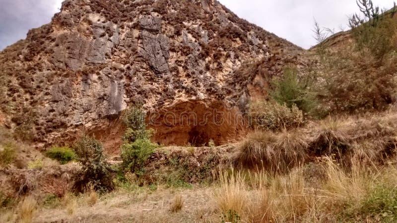 Erstaunliche Gruta de Huagapo stockbild