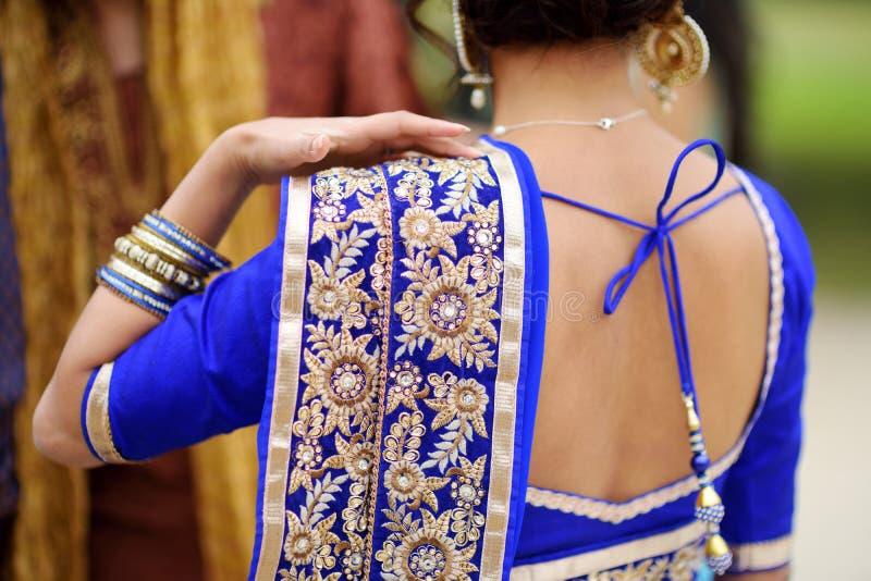 Erstaunliche hindische Hochzeitszeremonie Details der traditionellen indischen Hochzeit lizenzfreies stockfoto