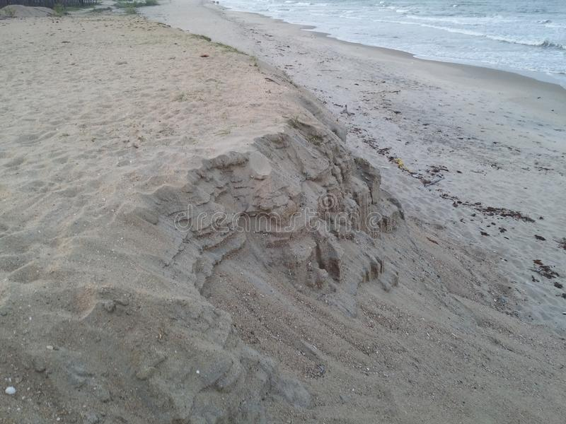 Erstaunliche Sandbank lizenzfreies stockfoto