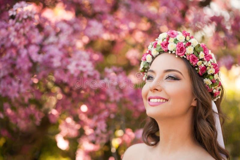 Erstaunliche Schönheit des natürlichen Frühlinges stockbild