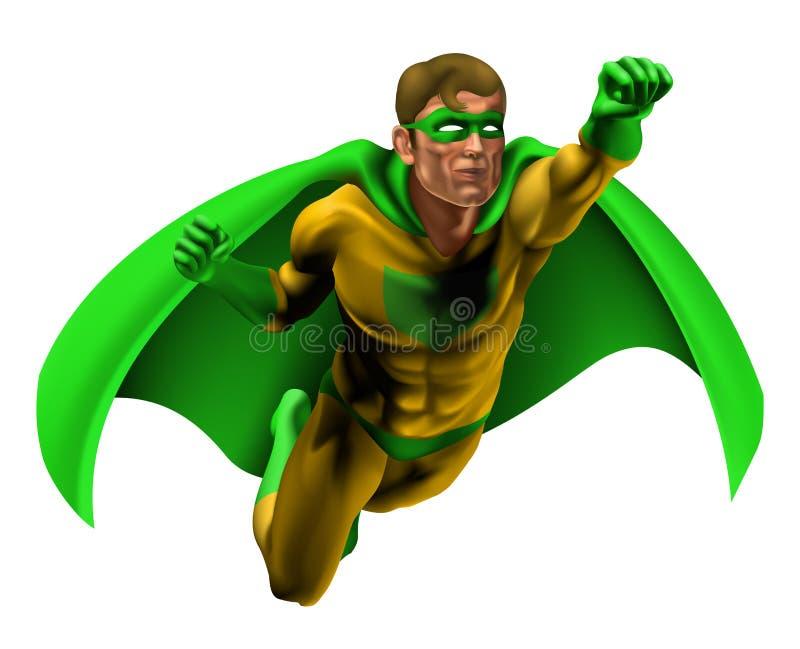 Erstaunliche Superheld-Abbildung Lizenzfreie Stockbilder