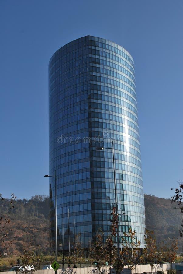 Erstaunliche Wolkenkratzer in Santiago, Chile lizenzfreies stockfoto