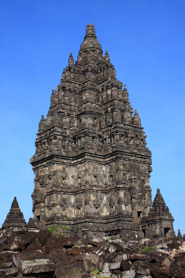 Erstaunlicher hinduistischer Tempel lizenzfreies stockbild