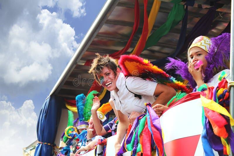 Erstaunlicher homosexueller Stolz in Brighton lizenzfreies stockfoto