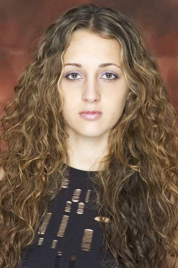 Erstaunliches Haar lizenzfreies stockfoto