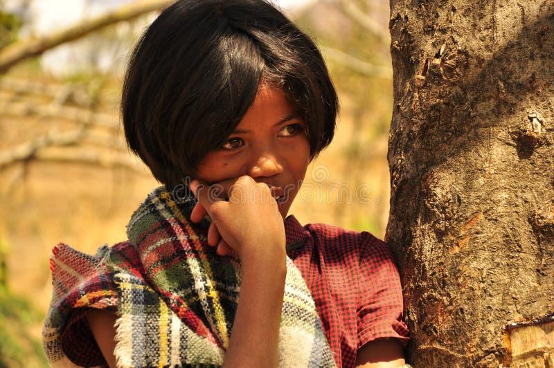 Erstaunliches junges Mädchen mit erstaunlichen Augen stockbilder
