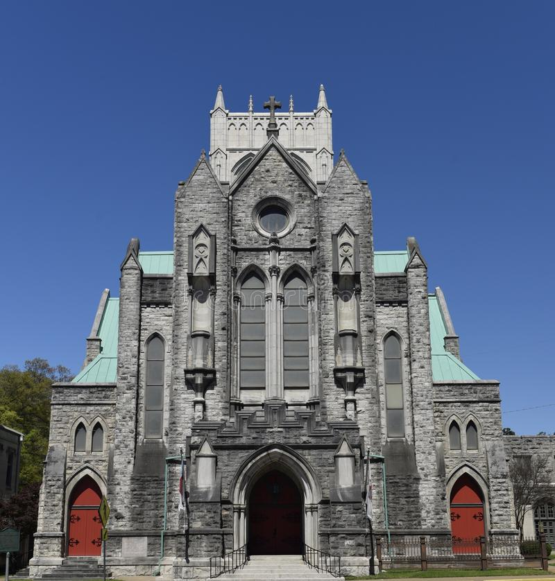 Erste episkopale Kathedrale im Süden stockbild