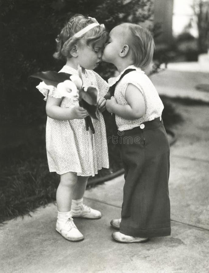 Erste Liebe stockbild