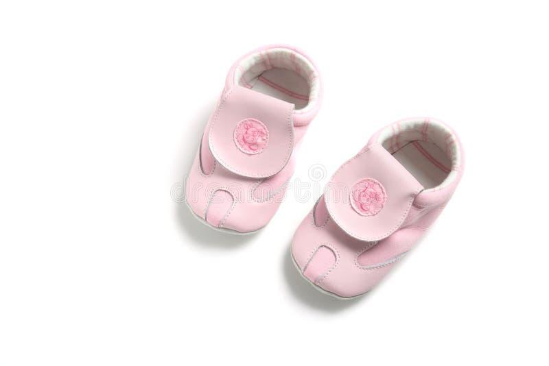 Erste Schuhe des Schätzchens lizenzfreie stockfotografie