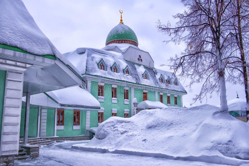 Erste Ufa-Kathedralen-Moschee lizenzfreie stockfotos