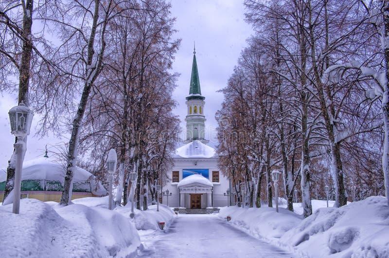Erste Ufa-Kathedralen-Moschee lizenzfreies stockbild