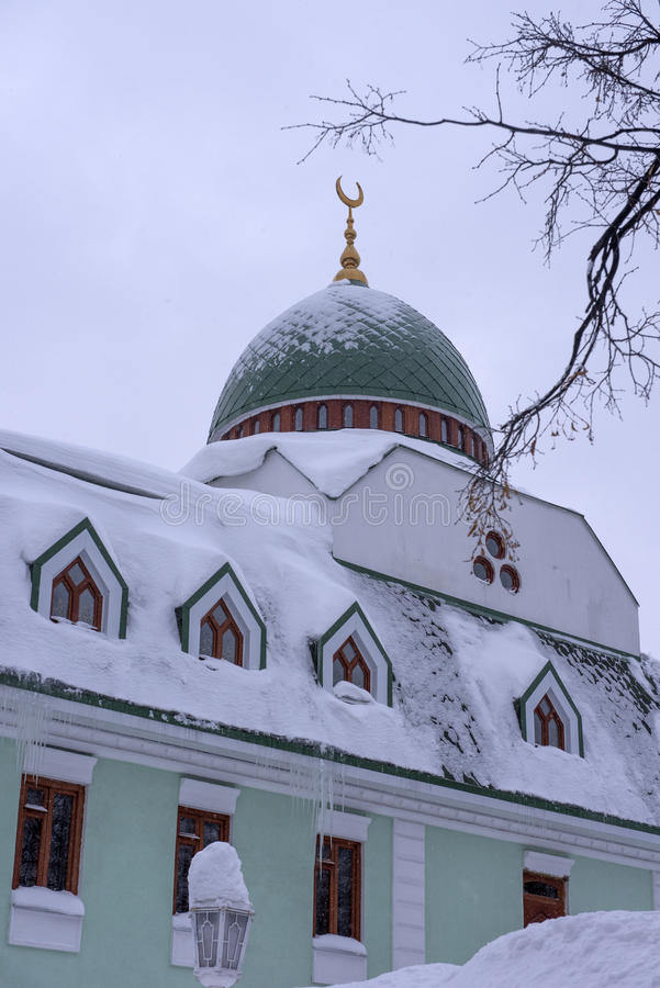 Erste Ufa-Kathedralen-Moschee lizenzfreie stockfotografie