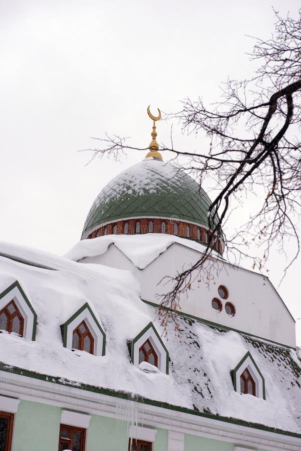 Erste Ufa-Kathedralen-Moschee stockfoto