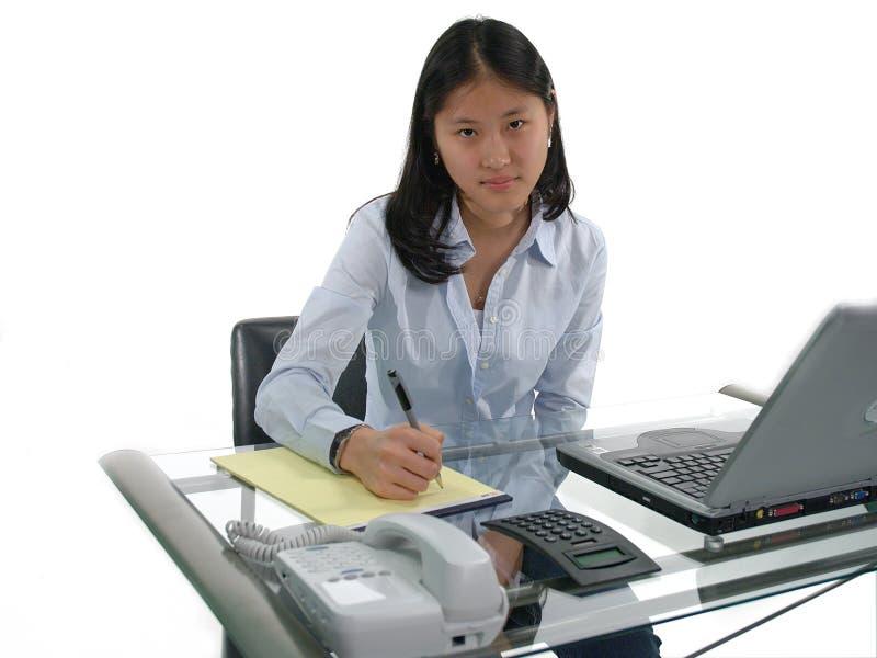 Erster Job-Sekretär stockbild