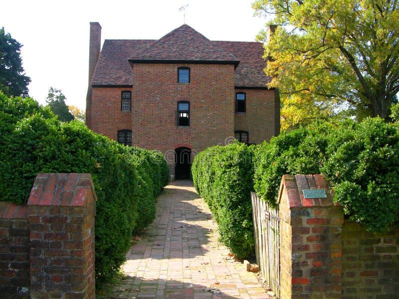 Erstes Zustand-Haus von Maryland stockbilder